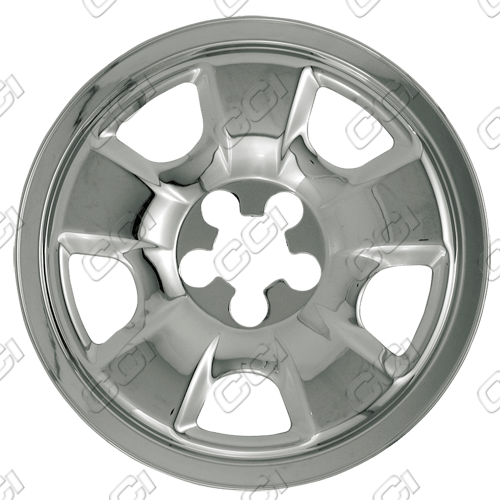 "Subaru Forester 1998-2002 Chrome Wheel Covers, 5 Spokes (15"" Wheels)"