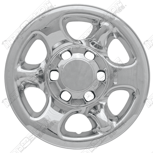 Isuzu Rodeo  2000-2004 Chrome Wheel Covers, 6 Spoke (16