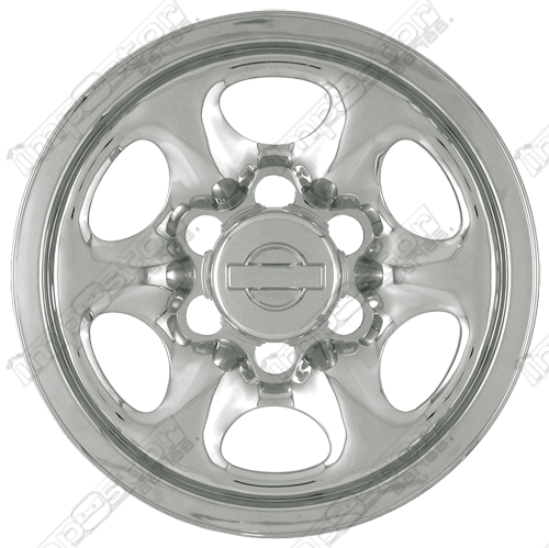 "Nissan Nissan Pickup  1991-1994 Chrome Wheel Covers, 6 Spoke (15"" Wheels)"
