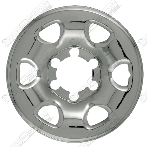"Nissan Frontier  1999-2004 Chrome Wheel Covers, 6 Rounded Triangles (15"" Wheels)"