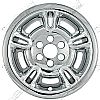 "1997 Dodge Durango   Chrome Wheel Covers, 5 Split Spoke (15"" Wheels)"
