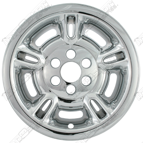 "Dodge Durango  1997-1999 Chrome Wheel Covers, 5 Split Spoke (15"" Wheels)"