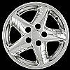 Pontiac Grand Am 1999-2005 Chrome Wheel Covers, 5 Star (16