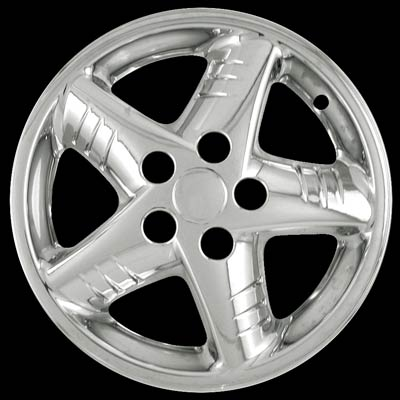 Pontiac Grand Am 1999-2005 Chrome Wheel Covers, 5 Star (16
