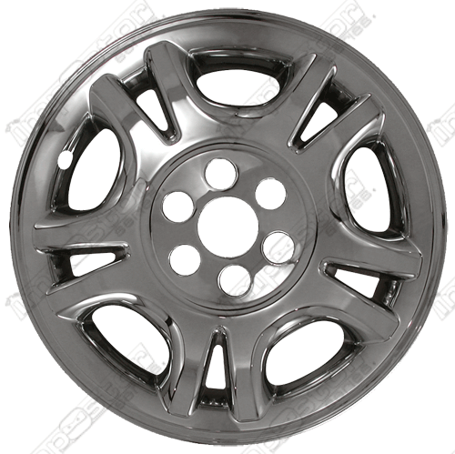 "Dodge Durango  2001-2003 Chrome Wheel Covers, 5 Split Spoke (16"" Wheels)"