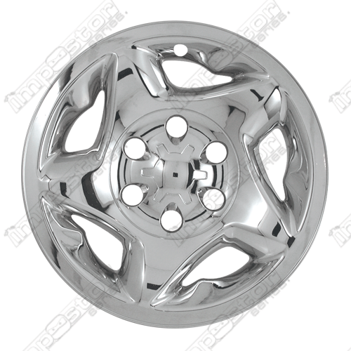 "Toyota Sequoia  2001-2002 Chrome Wheel Covers, 5 Star Directional (16"" Wheels)"