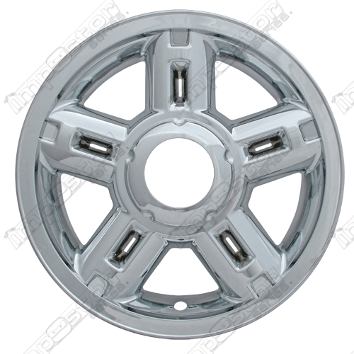 "Ford Explorer  2002-2005 Chrome Wheel Covers, 5 Rounded Triangles (16"" Wheels)"