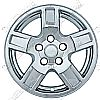 "2007 Jeep Grand Cherokee   Chrome Wheel Covers, 5 Indented Spokes (17"" Wheels)"