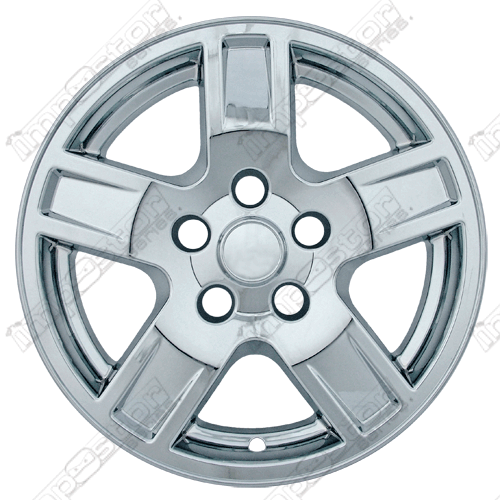 "Jeep Grand Cherokee  2005-2007 Chrome Wheel Covers, 5 Indented Spokes (17"" Wheels)"