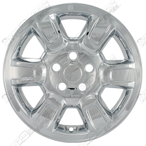 "Honda Ridgeline Rts 2006-2008 Chrome Wheel Covers, 6 Raised Spokes (17"" Wheels)"
