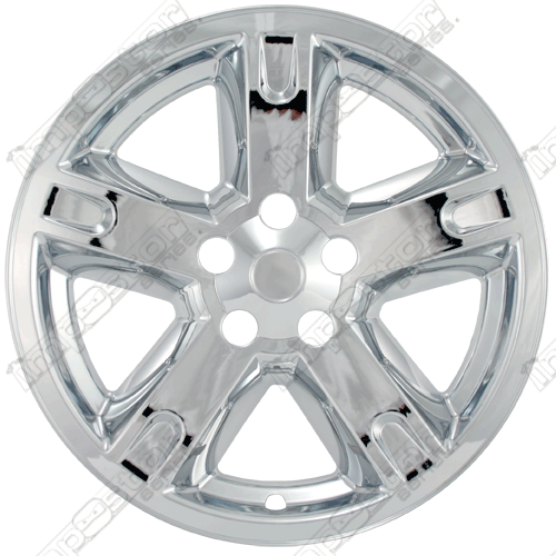 "Dodge Nitro  2007-2011 Chrome Wheel Covers, 5 Spoke (17"" Wheels)"