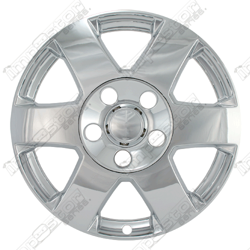 "Jeep Grand Cherokee  2008-2010 Chrome Wheel Covers, 6 Spoke (17"" Wheels)"