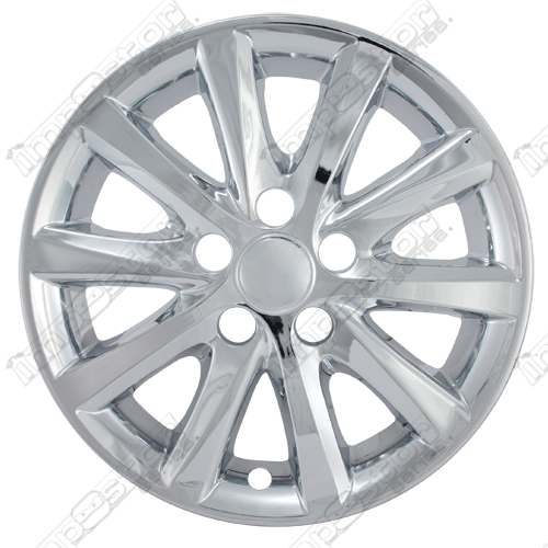"Toyota Camry Xle, Hybrid 2010-2011 Chrome Wheel Covers,  (16"" Wheels)"