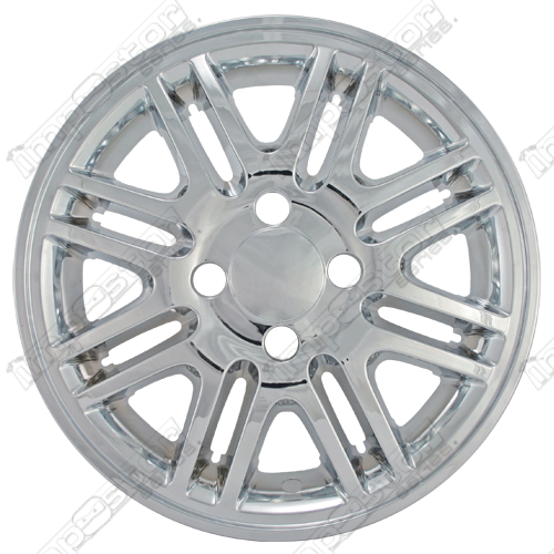 "Ford Focus  2004-2010 Chrome Wheel Covers, 8 Dbl Spoke U20 Only (15"" Wheels)"