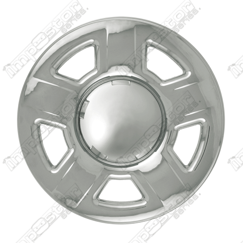 "Mazda Tribute  2001-2004 Chrome Wheel Covers, 5 Dimpled Spokes (15"" Wheels)"