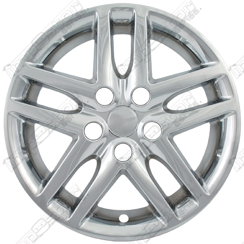 "Ford Fusion S 2010-2012 Chrome Wheel Covers,  (16"" Wheels)"