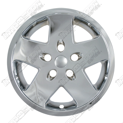 "Jeep Wrangler Base, Limited 2007-2010 Chrome Wheel Covers,  (17"" Wheels)"