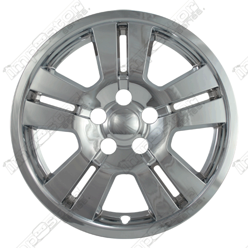 "Ford Edge  2007-2010 Chrome Wheel Covers, 5 Spoke (17"" Wheels)"