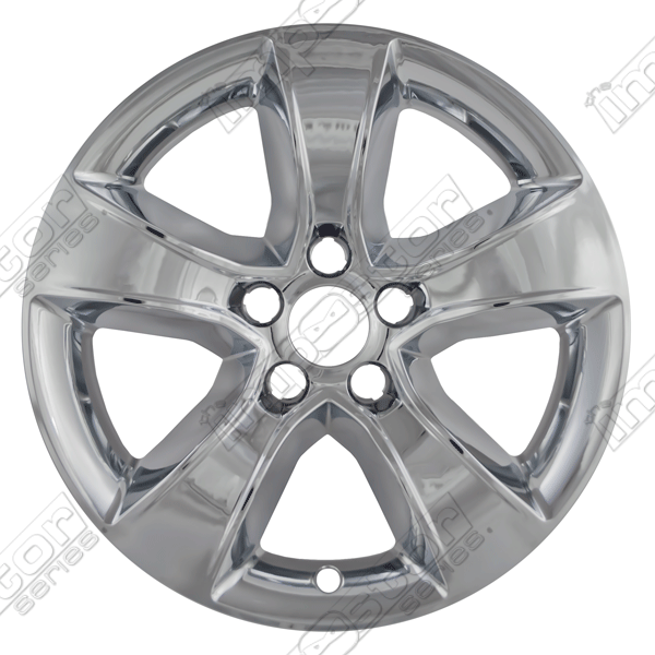 "Dodge Charger  2011-2013 Chrome Wheel Covers, 5 Spoke (17"" Wheels)"