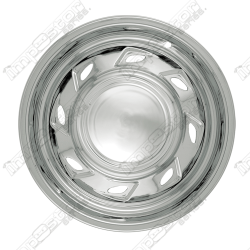 "Mazda B3000  1994-2006 Chrome Wheel Covers, 8 Directional Triangles (15"" Wheels)"