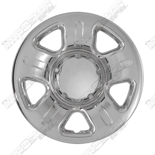 "Ford Explorer  2002-2006 Chrome Wheel Covers, 5 Dimpled Spokes (16"" Wheels)"