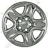 2007 Toyota Highlander   Chrome Wheel Covers, 5 Dimpled Spokes (16&quot; Wheels)