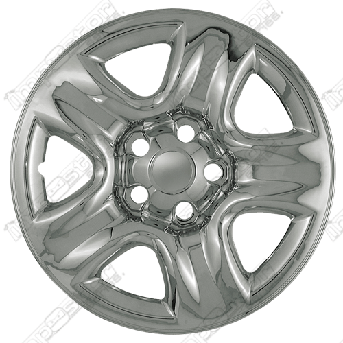 "Toyota Highlander  2002-2011 Chrome Wheel Covers, 5 Dimpled Spokes (16"" Wheels)"