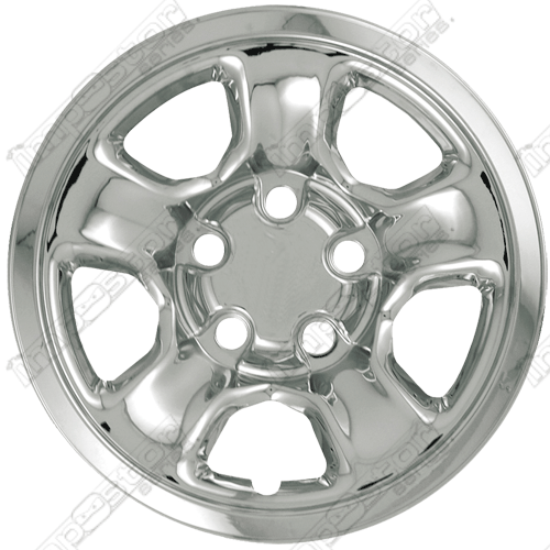 "Dodge Ram  2002-2010 Chrome Wheel Covers, 5 Spokes (17"" Wheels)"