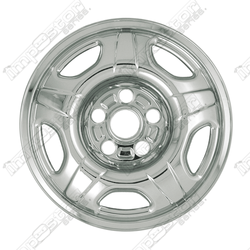 "Honda Crv  2002-2004 Chrome Wheel Covers, 5 Raised Spokes (16"" Wheels)"