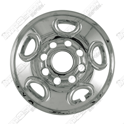 "Gmc Sierra 2500 1999-2006 Chrome Wheel Covers, 5 Flat Spokes (16"" Wheels)"