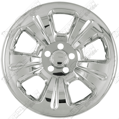 "Subaru Forester  2003-2007 Chrome Wheel Covers, 5 Dimpled Spokes (15"" Wheels)"