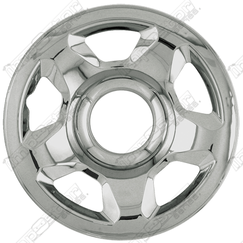 "Ford Expedition  2003-2005 Chrome Wheel Covers, 5 Raised Spokes (17"" Wheels)"
