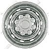 "Dodge Ram 2500/3500 2003-2011 Chrome Wheel Covers, 10 Rounded Slots (17"" Wheels)"
