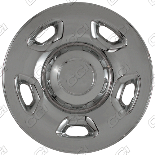 "Ford F150 2004-2011 Chrome Wheel Covers, 5 Flat Spokes (17"" Wheels)"