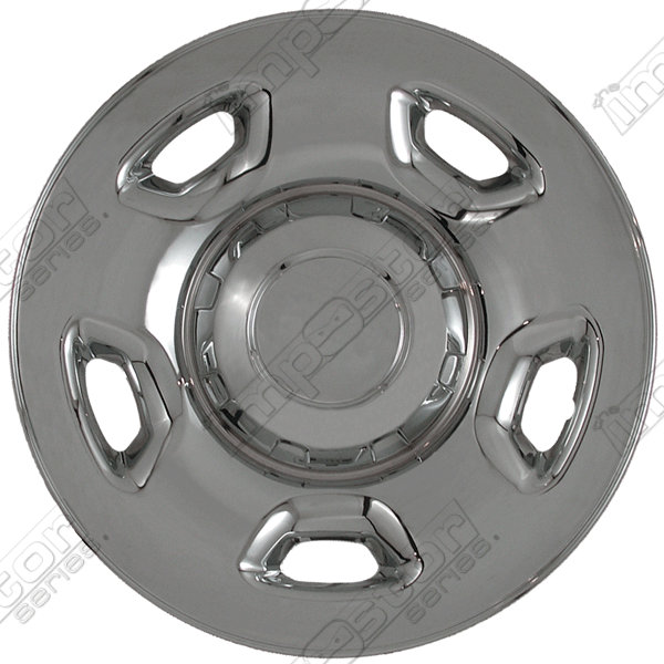"Ford F150  2004-2010 Chrome Wheel Covers, 5 Flat Spokes (17"" Wheels)"
