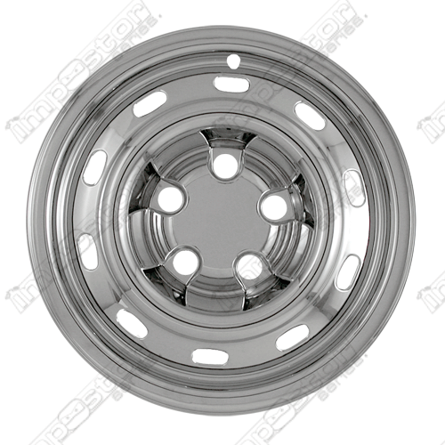 "Dodge Ram 1500 St 2004-2011 Chrome Wheel Covers,  (17"" Wheels)"
