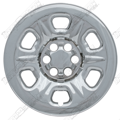 "Nissan Frontier  2005-2011 Chrome Wheel Covers, 6 Raised Dimpled Spokes (16"" Wheels)"