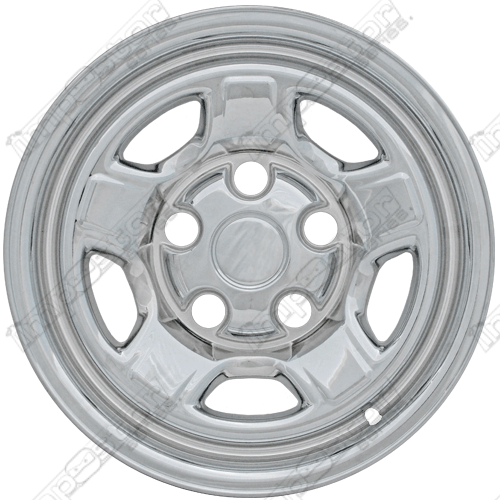 "Mitsubishi Raider  2006-2011 Chrome Wheel Covers, 5 Raised Spokes (16"" Wheels)"