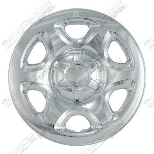 "Ford Escape  2008-2012 Chrome Wheel Covers, 6 Spokes (16"" Wheels)"