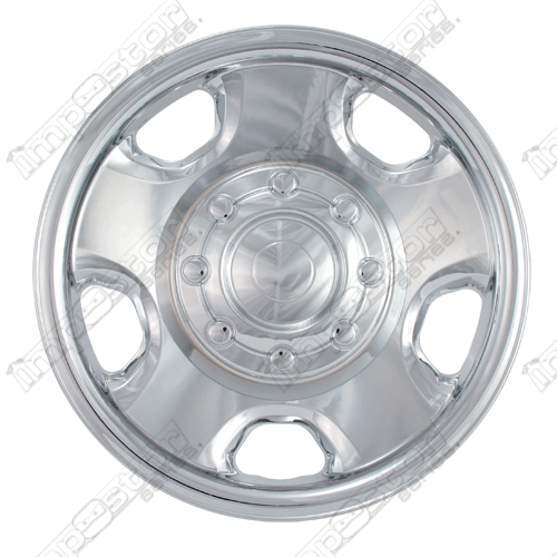 "Ford Superduty  2005-2009 Chrome Wheel Covers, 5 Flat Spokes (18"" Wheels)"