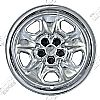 "2010 Chevrolet Camaro   Chrome Wheel Covers, Black Steel Wheel (18"" Wheels)"