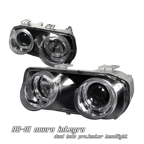 Acura Integra 1998-2001 Chrome Projector Headlights