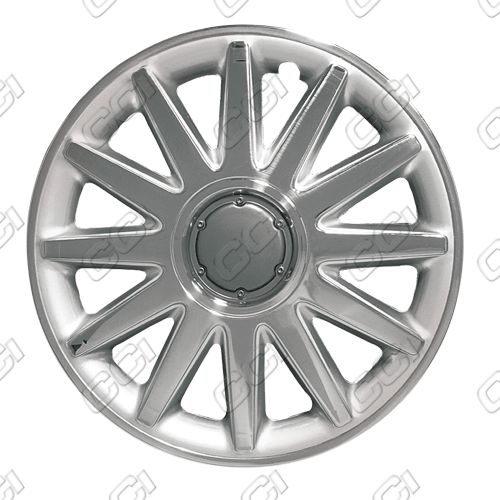 "Chrysler Sebring Coupe  1996-1997, 15"" 12 Spoke Chrome / Silver Wheel Covers"