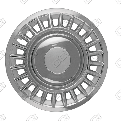 "Ford Crown Victoria  1998-2002, 16"" 24 Slot - Chrome Wheel Covers"