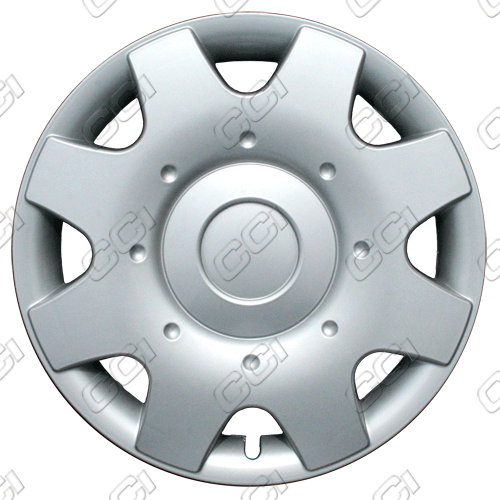 "Volkswagen Beetle  1998-2001, 16"" 8 Spoke - Silver Wheel Covers"