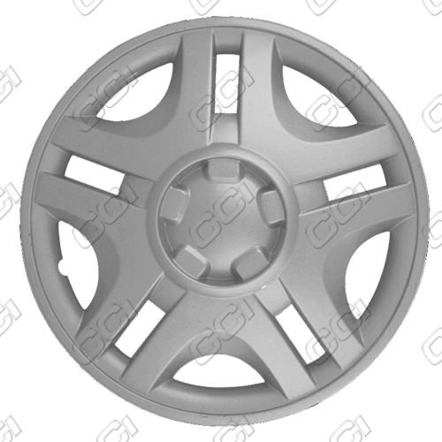 "Ford Windstar  1999-2000, 15"" 5 Split Spoke Silver Wheel Covers"