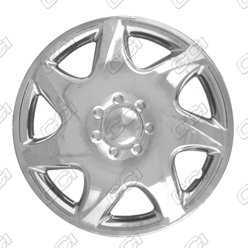 "Mazda Protege  1999-2000, 14"" 7 Spoke Silver Wheel Covers"