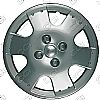 "Toyota Echo  2000-2005, 14"" 6 Spoke Silver Wheel Covers"