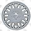 "Chrysler Town And Country  1998-2000, 16"" Lace Design - Silver Wheel Covers"
