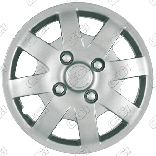 "Nissan Sentra  2000-2002, 14"" 8 Spoke Silver Wheel Covers"